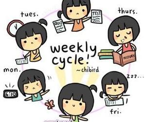 cycle, life, and weekend image