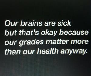 quotes, sad, and school image