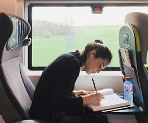 train, study, and travel image