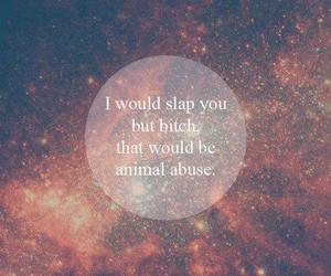 quote, bitch, and animal image