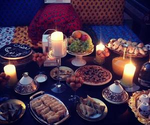رمضان كريم and فطور image