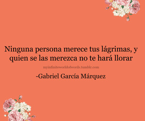 persona, gabriel garcia marquez, and frases image