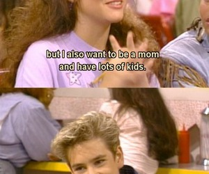 saved by the bell, kids, and 90s image