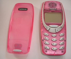 phone, pink, and aesthetic image