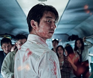 gong yoo, goblin, and train to busan image