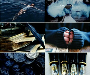 aesthetic, harrypotter, and blue image
