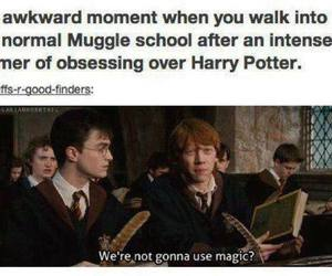 harry potter, ron weasley, and school image