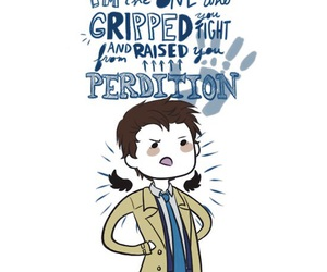 supernatural, castiel, and quotes image
