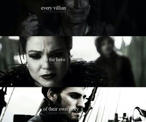 once upon a time, villains, and captain hook image