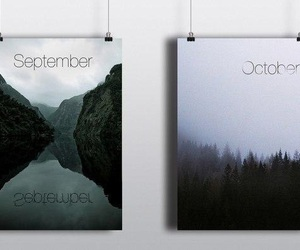 September and october image