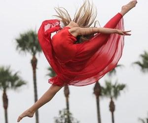 amazing, arabesque, and ballerina image