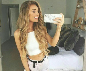bedroom, girl, and goals image