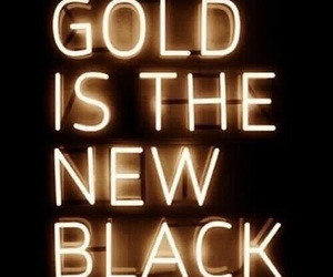 gold and black image