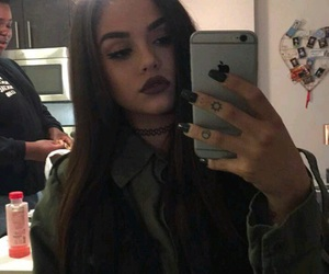 maggie lindemann, hair, and icon image