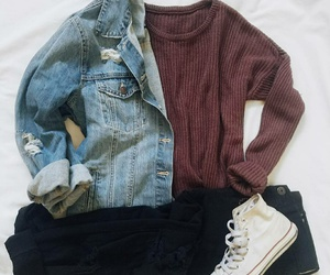 converse and outfit image