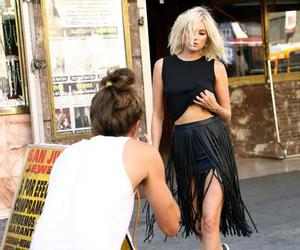 black and white, street style, and outfits image
