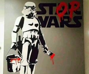 war, star wars, and stop image