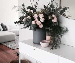 flowers, vintage style, and interior design image