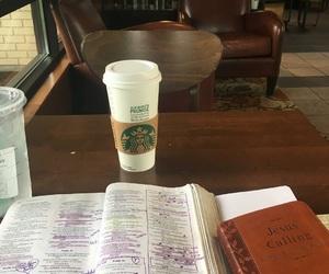 bible, christian, and coffe image