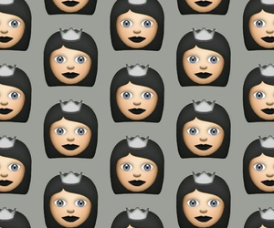 pattern, wallpaper, and emoji image