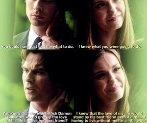 damon, you all the while, and elena image