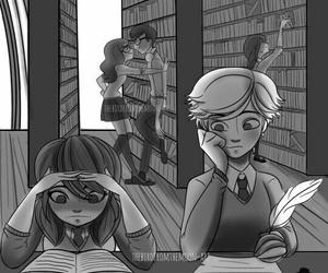 Adrien, ladybug, and tikki image