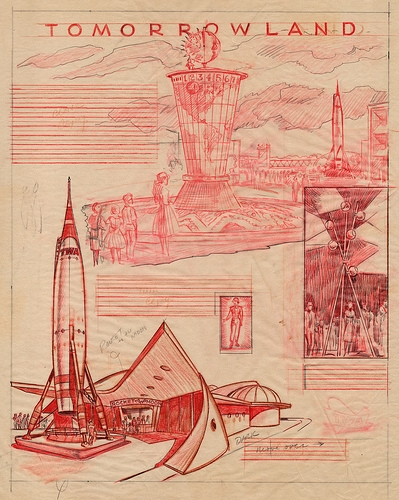 disney, future, and sketch image