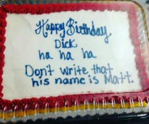birthday, cake, and funny image