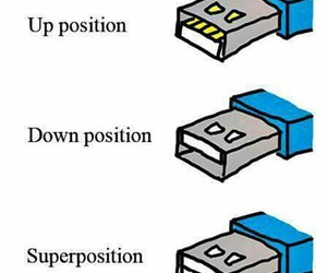 usb and superposition image