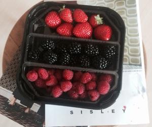 berry, strawberries, and rasperries image