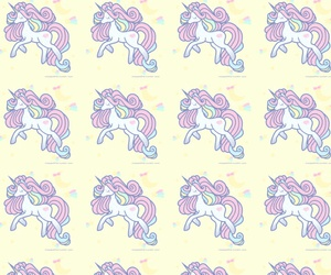 unicorn, wallpaper, and animals image