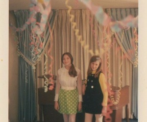 60s, party, and vintage image