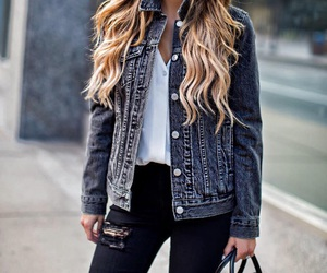 autumn, style, and denim image