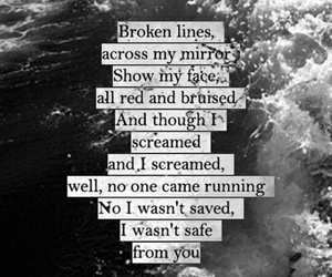 the pretty reckless, under the water, and Lyrics image