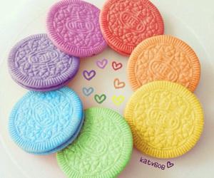 Cookies, hearts, and kawaii image