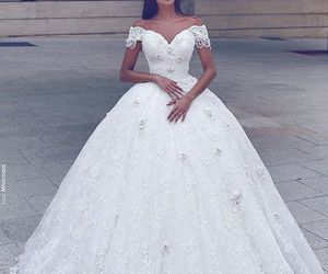 style, white, and bride image