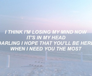 aesthetic, Lyrics, and don't let me down image