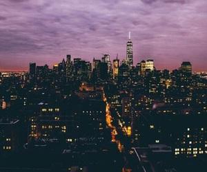city, sky, and skyline image
