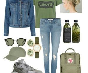 fashion, hairstyles, and jacket image