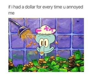 funny, money, and spongebob image