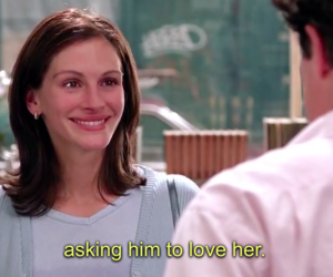love, Notting Hill, and julia roberts image