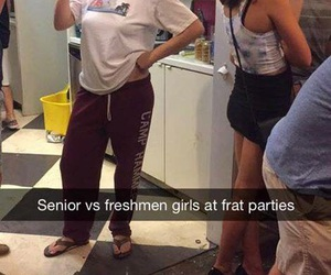 funny, senior, and party image