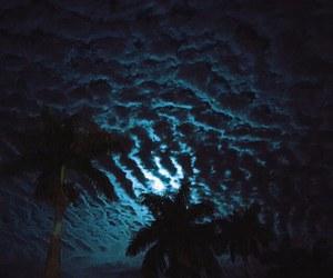 sky, night, and blue image