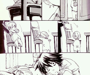 death note, L, and n image