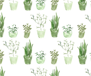 plants, background, and pattern image