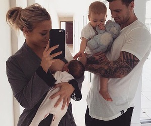 baby, family, and goals image