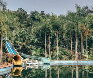 abandoned, derelict, and Vietnam image