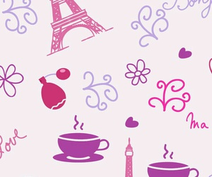 pattern, background, and paris image