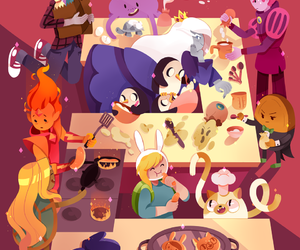 cake, adventure time, and prince gumball image