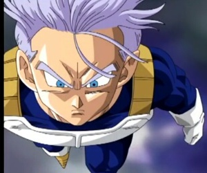 trunks, dbz, and dragonballz image